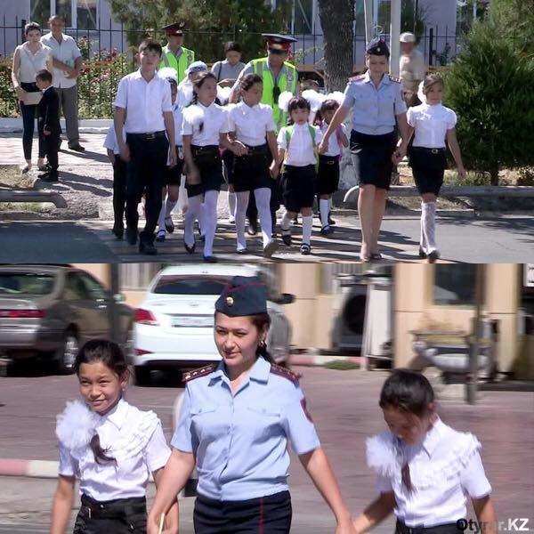 Профилактические мероприятия с пешеходами-школьниками