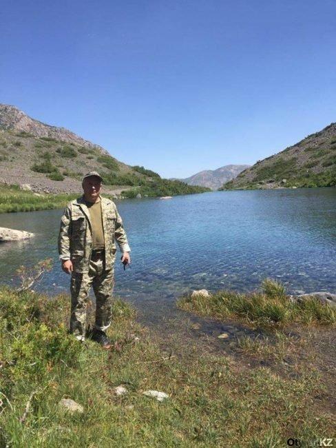 Юрий Малыхин на Нижнем озере