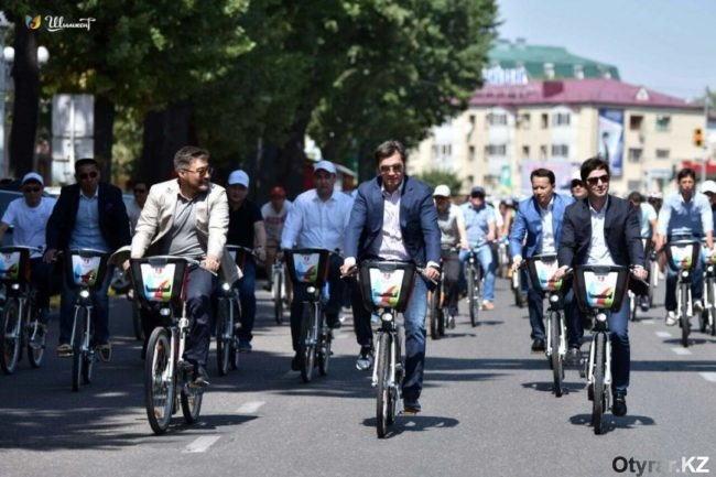 Шымкент стал вторым городом после Астаны, где запустилась система автоматизированного велобайка