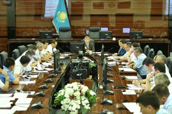 В ЮКО обсудили вопрос подготовки площадей для выдачи участков