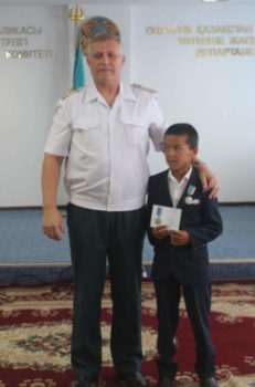 Александр Путейко и Мухамедали Курак