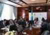 Глава государство открыл в ЮКО предприятие по изготовлению продуктов быстрого питания
