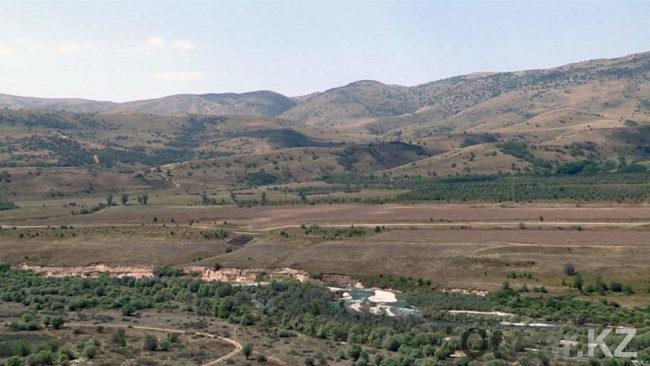 Археологические раскопки на городище Уш Бас тобе