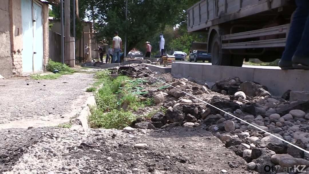 Ирригациооных лотков на 112 квартале почти не видно