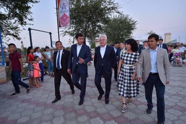 В Шымкенте торжественно открыта зона отдыха «Жайлаукол»