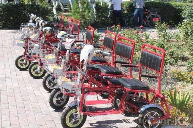 Электронная инвалидная коляска