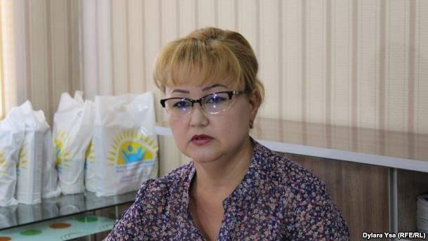 Председатель общественного фонда «Защита детей от СПИДа» Жаннета Жазыкбаева.