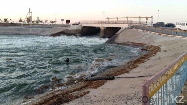 В канале Кызыл утонул мужчина