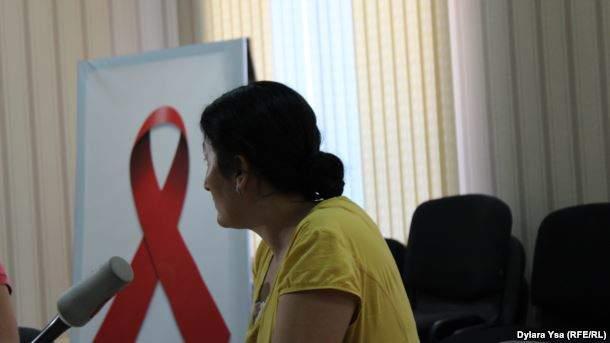 Феруза Жанибекова, мать ребенка, зараженного ВИЧ.