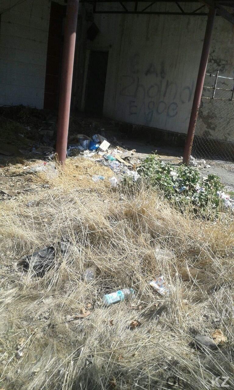 Дворники не вывозят мусор, а разметают по углам