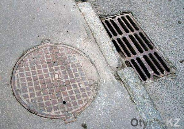 Ливневая канализация в городе