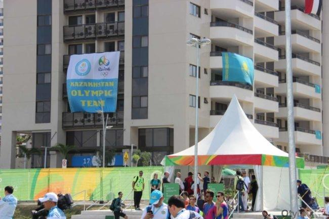 Дом в олимпийской деревне Рио, где живут казахстанские спортсмены