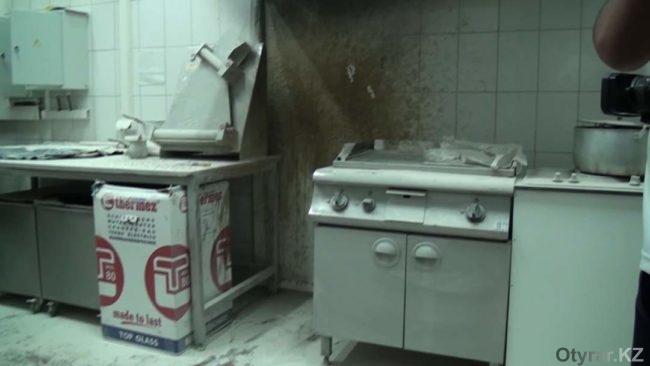 """Масло загорелось в """"Фиркан сити"""""""