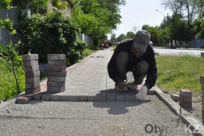 Аулы Байдибекского района ЮКО преображаются