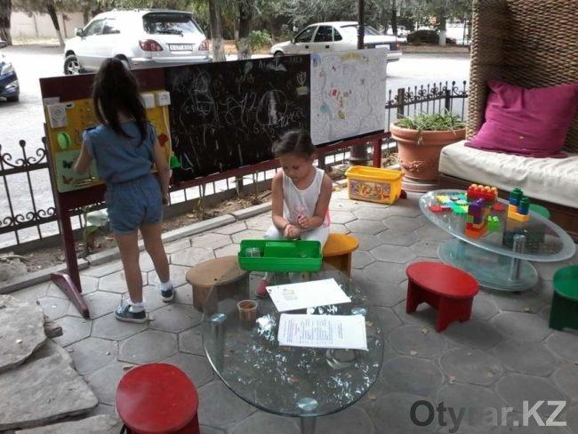Игровая площадка для малышей