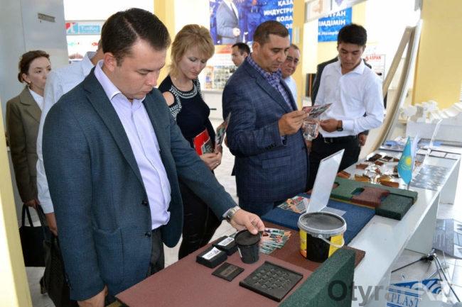 Делегация из Узбекистана ознакомилась с предприятиями в ЮКО