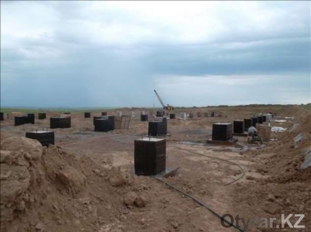 Строителство мусорного завода. 2012 год