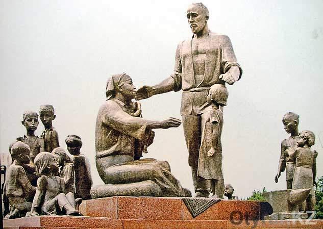 Памятник в Ташкенте