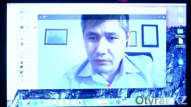 Полицейские Шымкента провели первую в стране онлайн-конференцию с жителями города