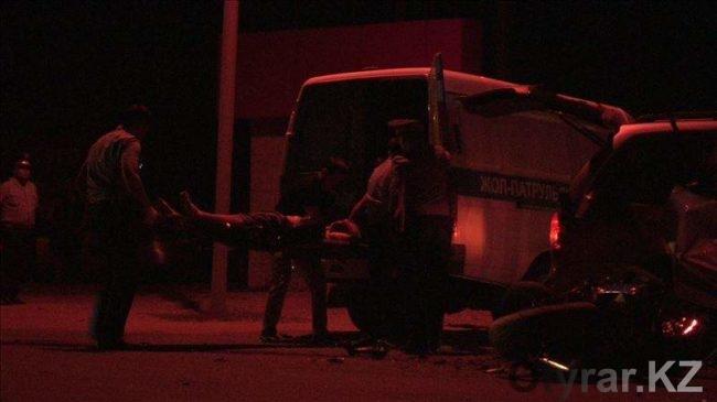 Очередное ДТП с человеческими жертвами в Шымкенте