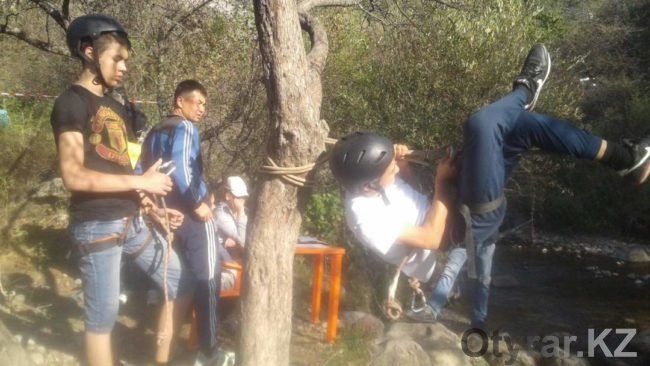 Соревнования юных туристов ЮКО