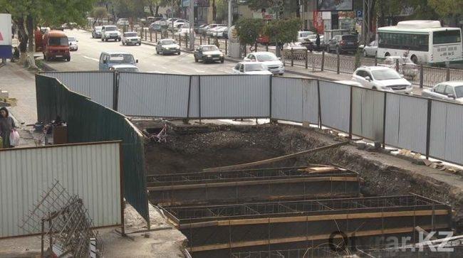 70 миллионов тенге уже освоили подрядчик при строительстве перехода по Тамерлановскому шоссе