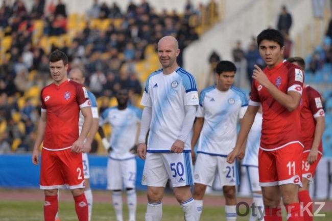 Волевую победу одержал Ордабасы в матче с Актобе