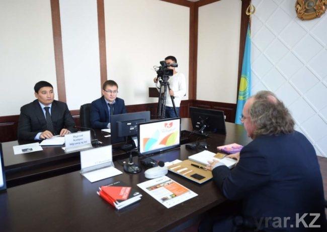 Встреча руководящего состава города с Почетным Консулом Республики Чили
