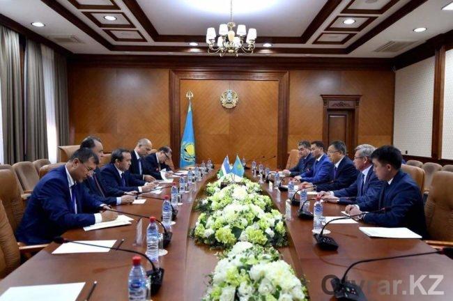 Представители Узбекистана прибыли в ЮКО
