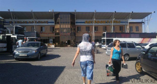 Автовокзал в Шымкенте