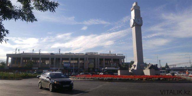 Ж\д вокзал Шымкента
