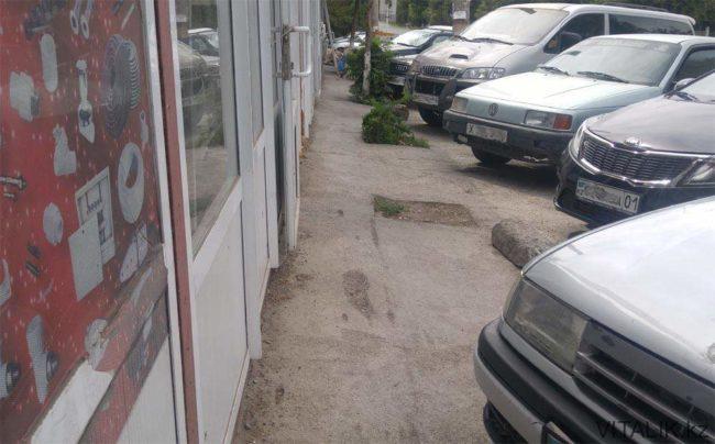 """Тротуары"" в Шымкенте"