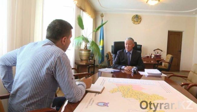 Аким Толебийского района ЮКО решил проблему школьников за минуты