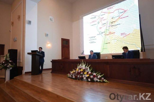 Аким ЮКО познакомился с активом города Шымкент