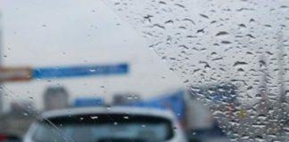 Дождь на улице