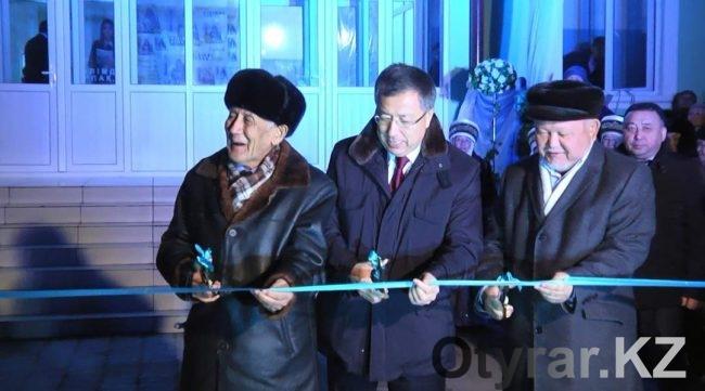 Открытие новой библиотеки в городе Сарыагаш
