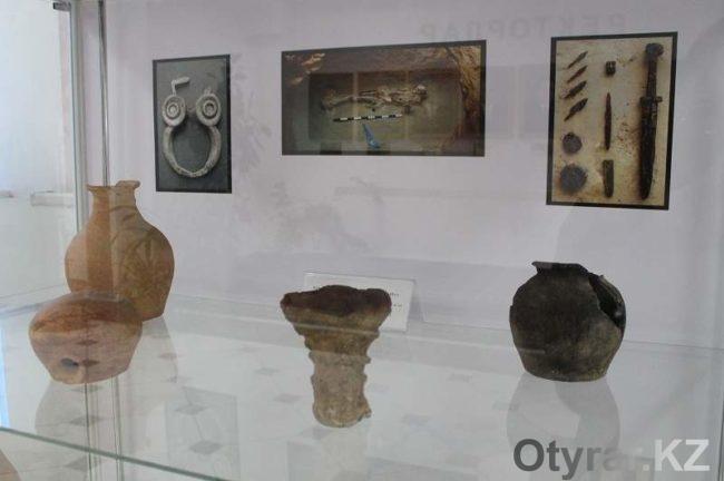 Первый в стране археологический музей в институте открылся в ЮКО