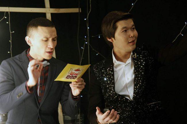 Вечернее чаепитие с казахстанскими звездами