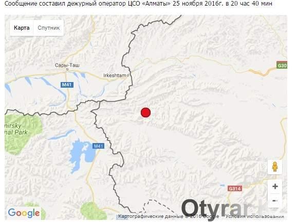 Наюге Киргизии случилось два землетрясения