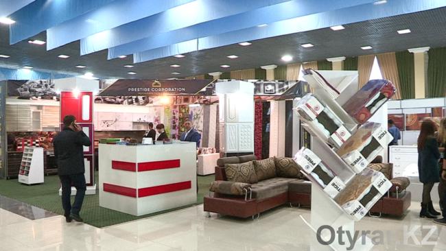 В Шымкенте началась международная мебельная выставка