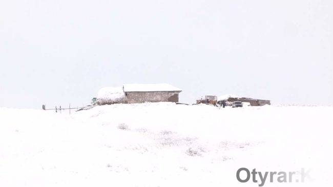 Зима в Байдибекском районе