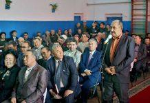 Встреча акима с жителями села Шубар