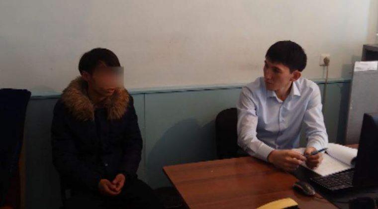 Двадцатилетний безработный из ЮКО промышлял грабежом на улицах Шымкента