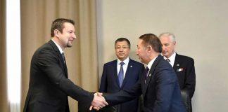 Почетным консулом Венгрии назначен Кайрат Молдасеитов