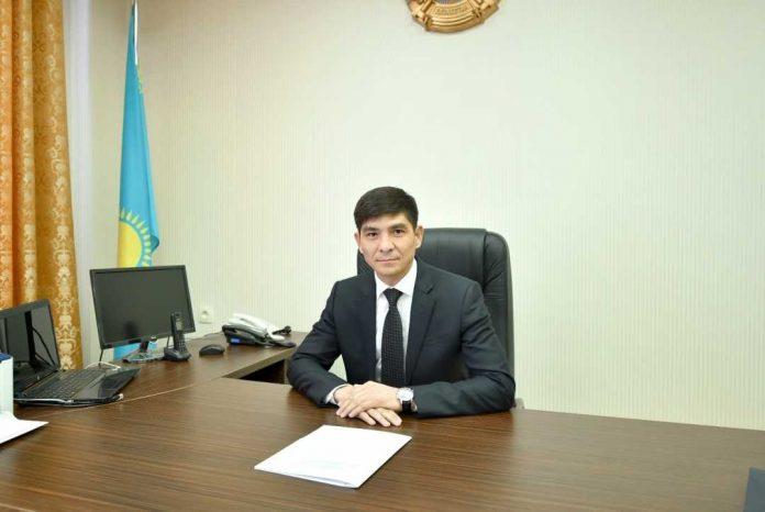 Руководитель управления государственных закупок Дуйсенов Берик Тастанбекович