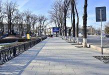 Отремонтированный проспект Тауке-хана
