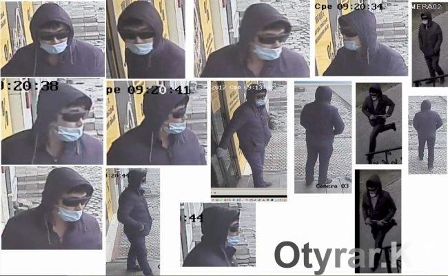 Появилось изображение подозреваемого в попытке ограбления шымкентского ломбарда