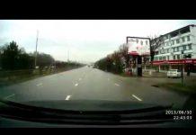 ДТП на Тамерлановском шоссе в Шымкенте