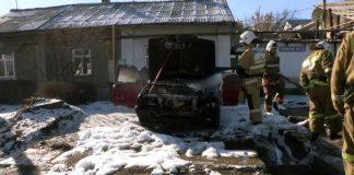 В Шымкенте автомашины горят не только знойным летом, но и зимой