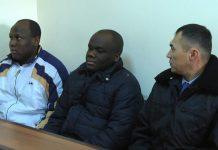 Нигерийцы на скамье подсудимых